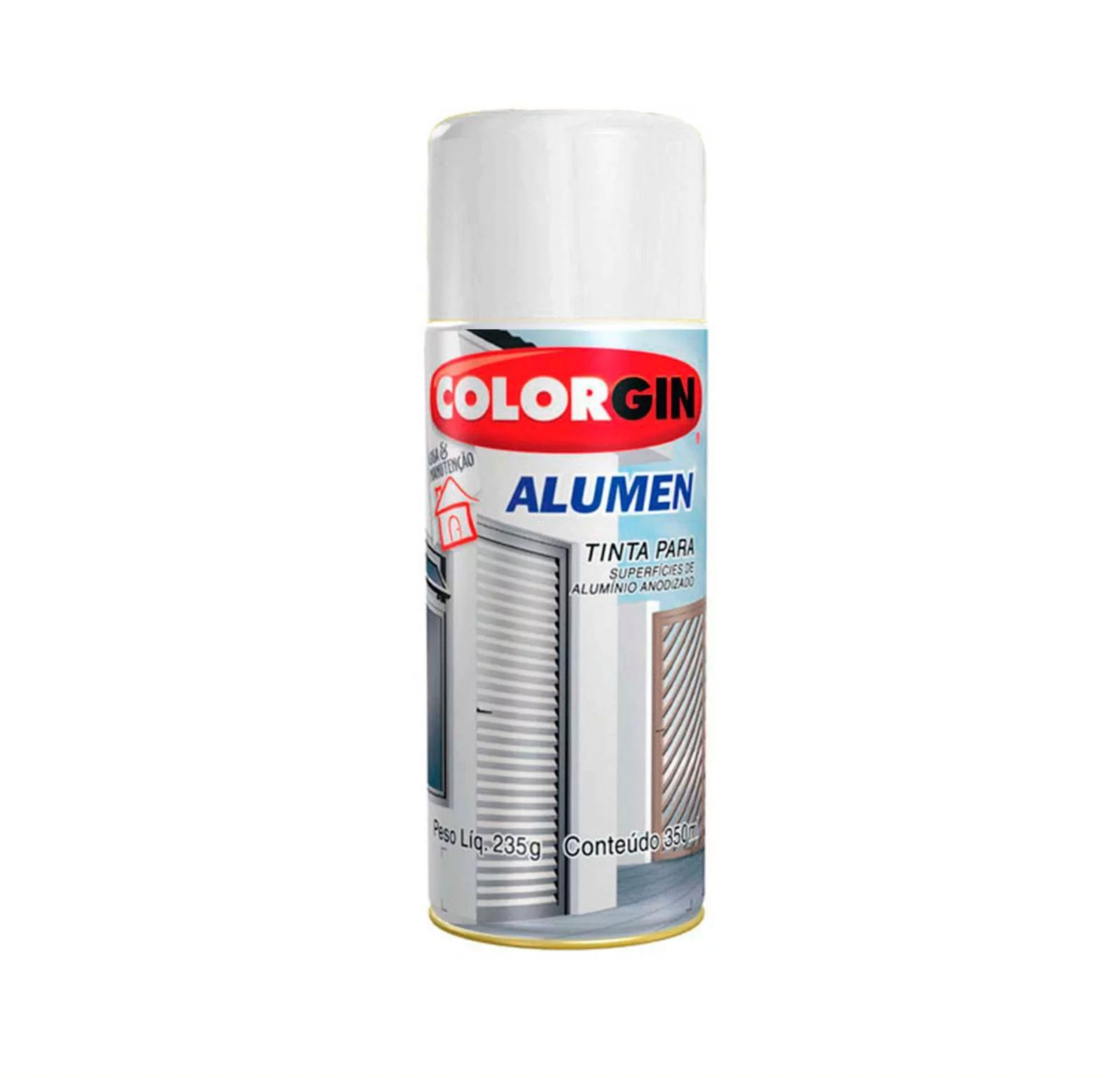 Spray 7004 Alumen Branco Colorgin