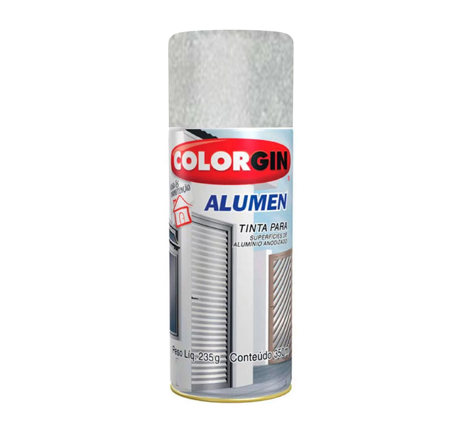 Spray 770 Alumen Aluminio Colorgin