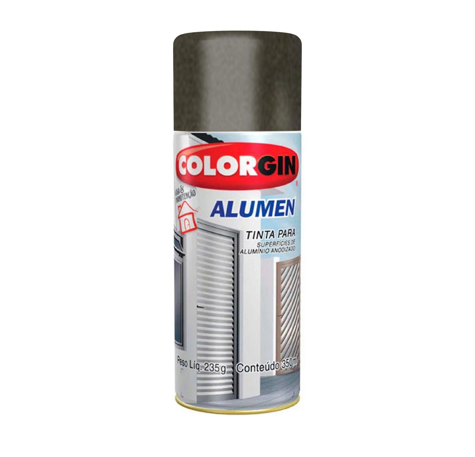 Spray 772 Alumen Bronze Escuro Colorgin