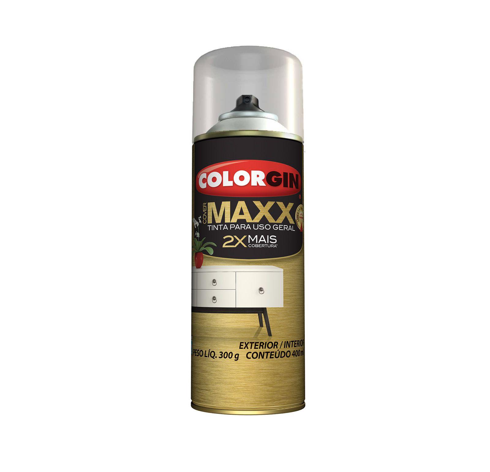 Spray Colorgin Cover Maxx Branco
