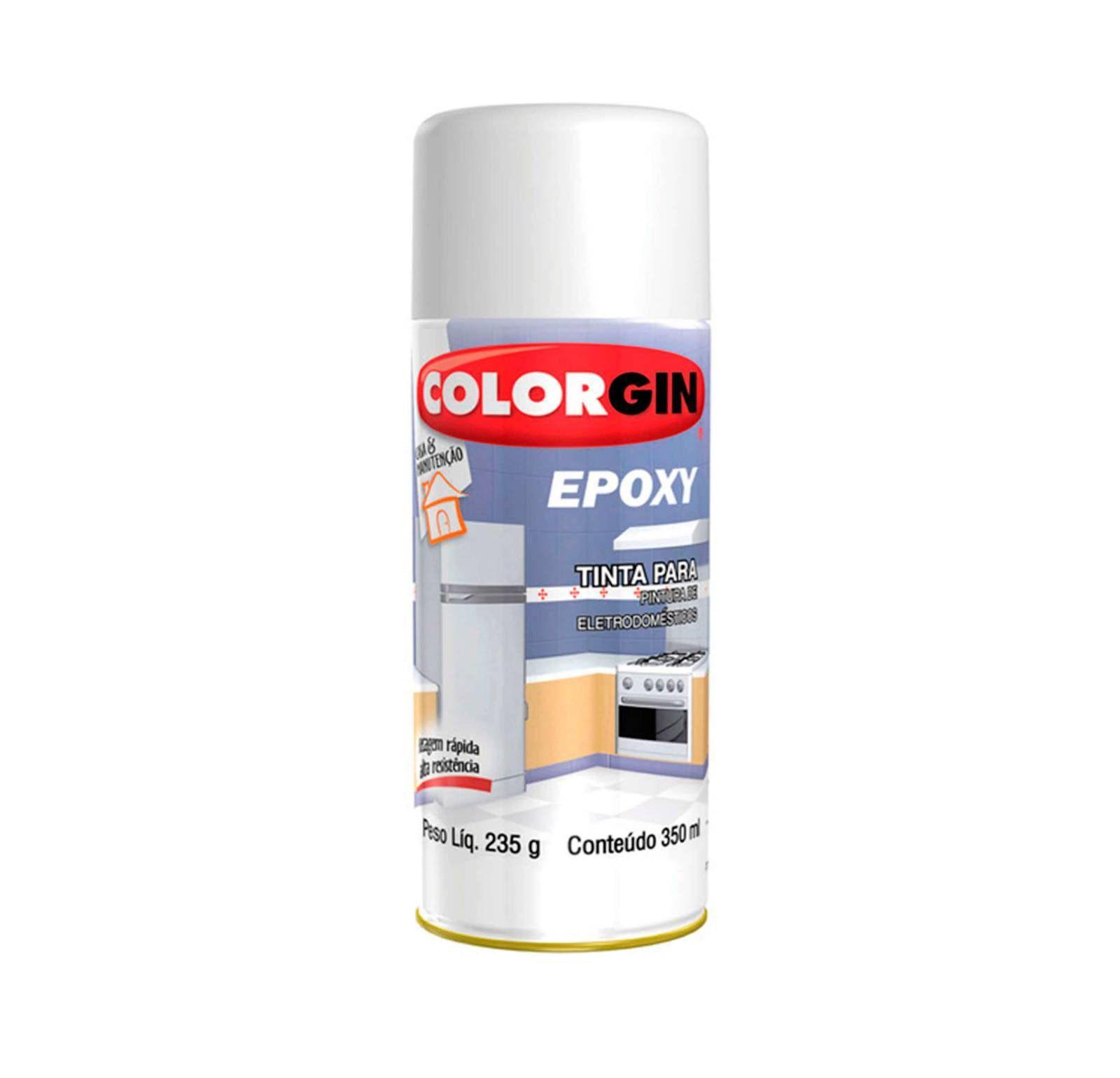 Spray Colorgin Epoxi Branco 852