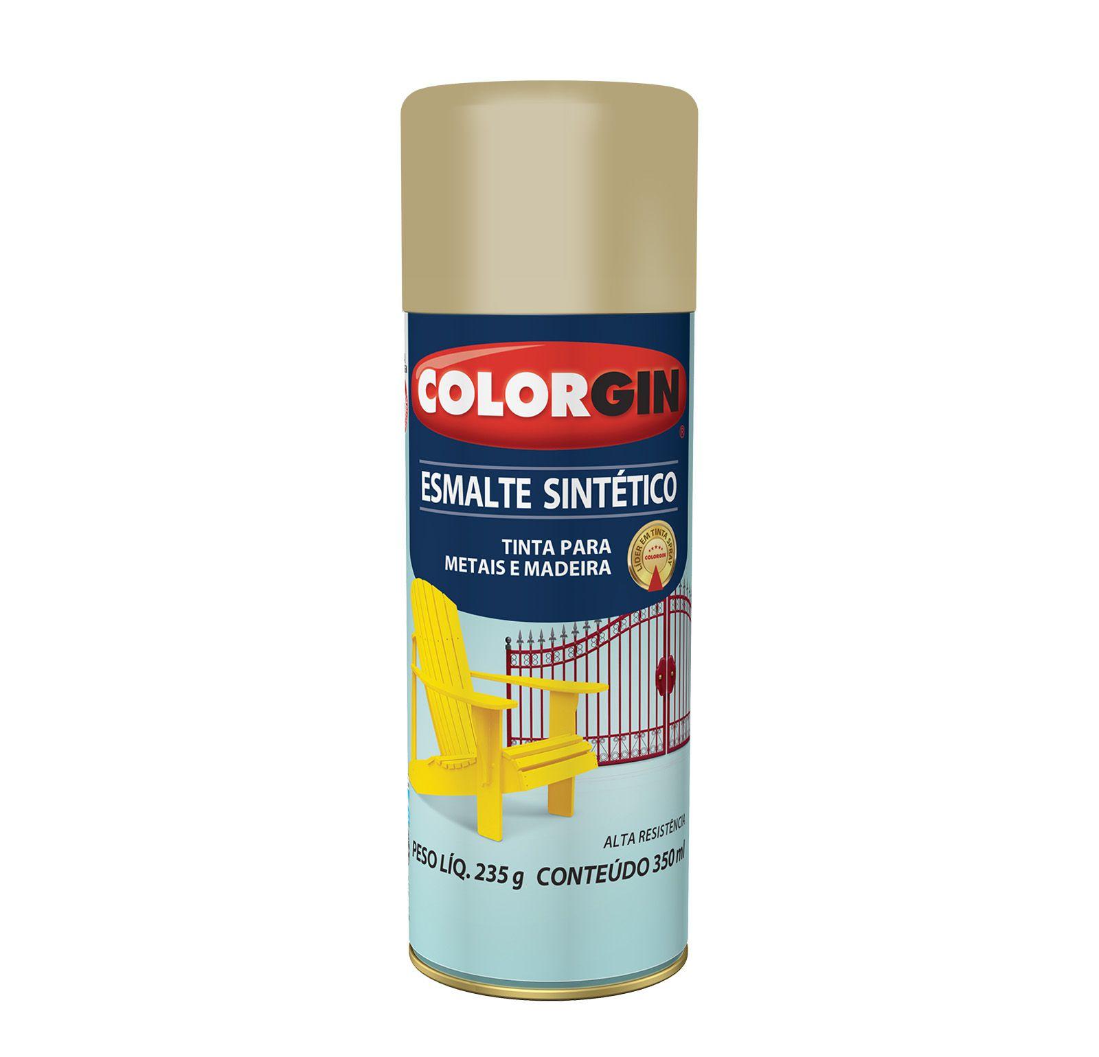 Spray Colorgin Esmalte  Sintético Camurca 734