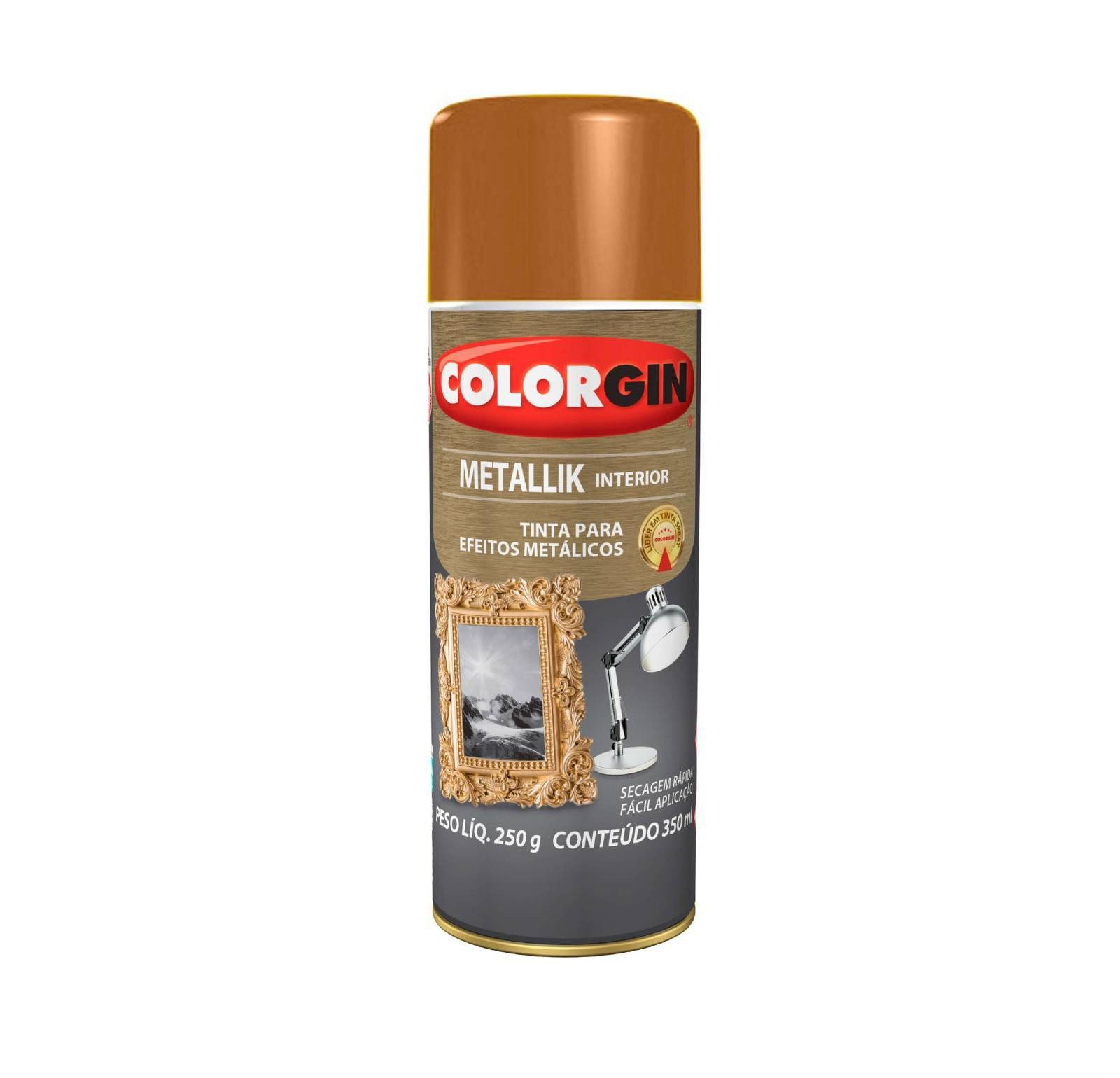 Spray Colorgin Metalik Cobre 54