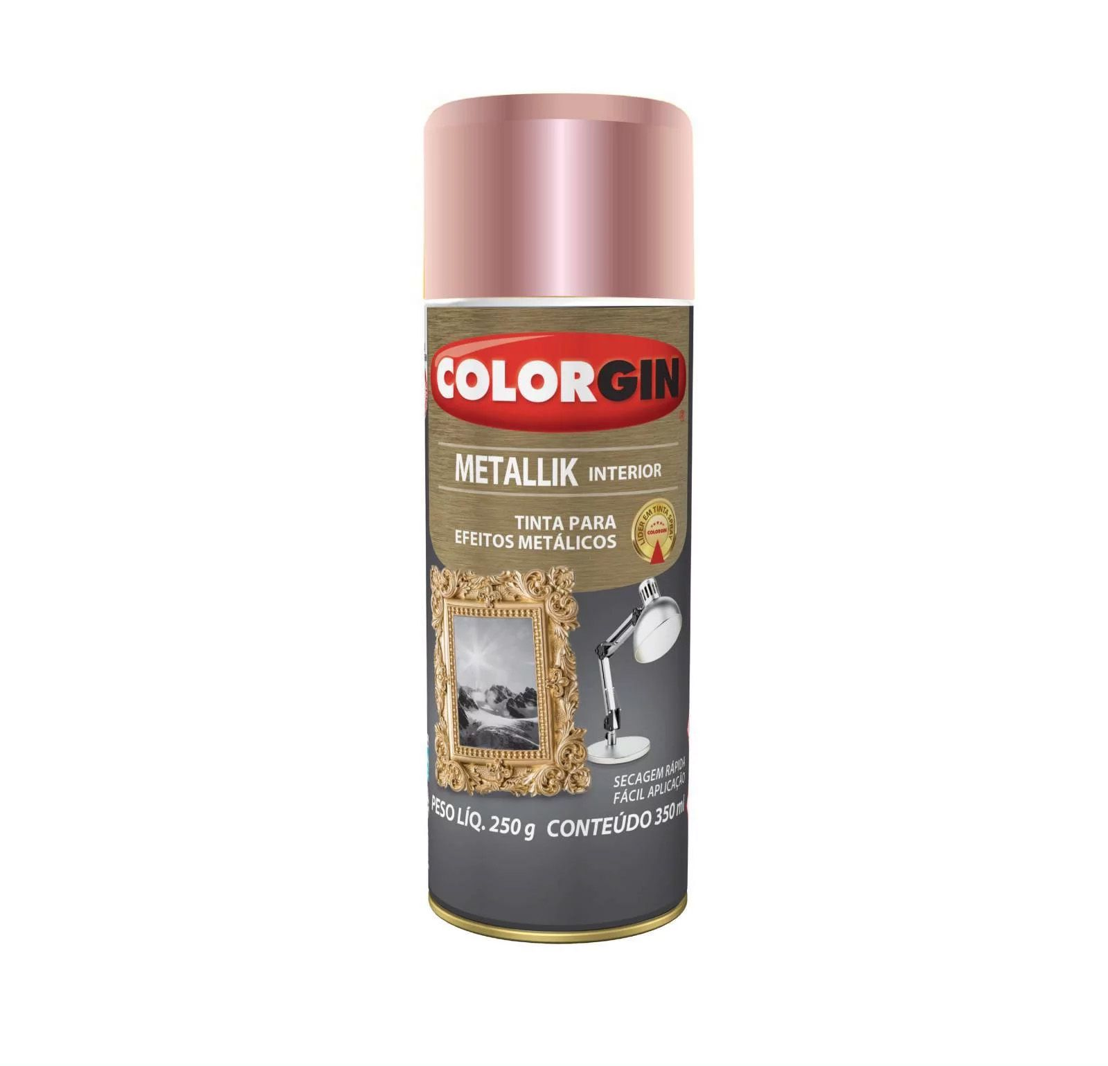 Spray Colorgin Metalik Rose Gold 56