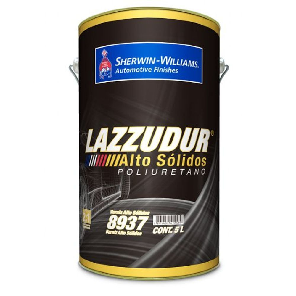 Verniz Alto Sólidos 8937 5L - Lazzuril