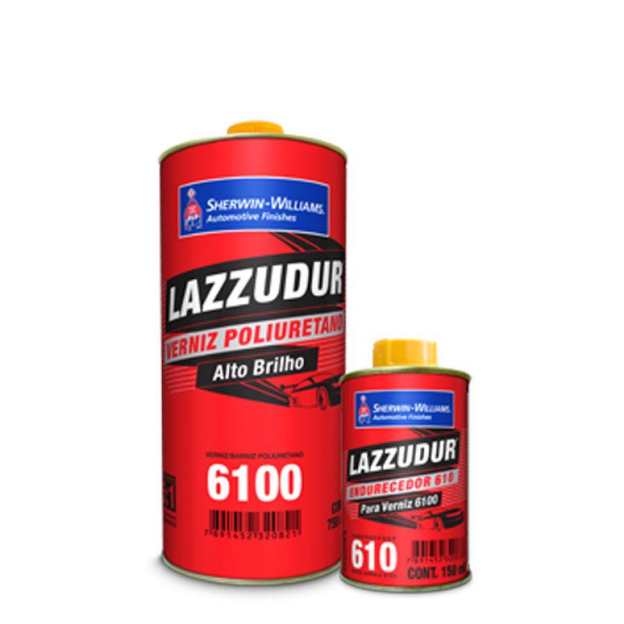 Verniz PU 6100 KIT 750ml - Lazzuril
