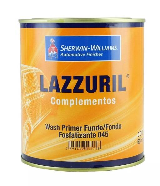 Wash Primer 045 600ml - Lazzuril