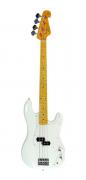 Contrabaixo SX Precision Bass SPB57 White 4 Cordas
