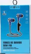 Fone de ouvido Bluetooth sem Fio Inova Fon-2254d Preto