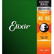 Encordoamento Elixir Baixo 0.40 4 Cordas