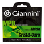 Encordoamento Giannini MPB Violão Nylon Branco GENWG