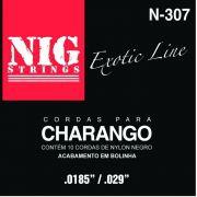 Encordoamento Nig Charango N307 Nylon Negro