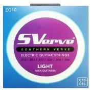 Encordoamento Sverve Guitarra 0.10 EG10