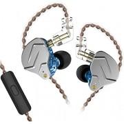 Fone KZ Zsn Pro com Microfone Azul