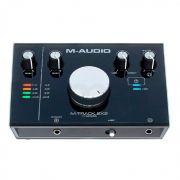 Interface de Audio M-Audio MTRACK2X2
