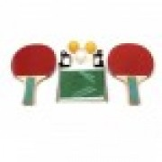 Kit Ping Pong Standard rede + 2 raquetes + 3 bolinhas