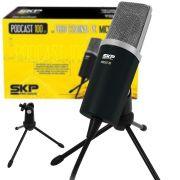 Microfone Skp Podcast 100