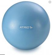 Mini bola atrio fitness para exercícios material pvc antiderrapante azul es238