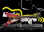 Miniatura Guitarra Fly V
