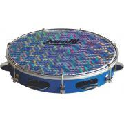 Pandeiro Torelli 10' Azul Pele Holográfica TP 308