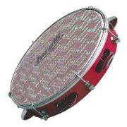Pandeiro Torelli 10' Vermelho Pele Holográfica TP 308