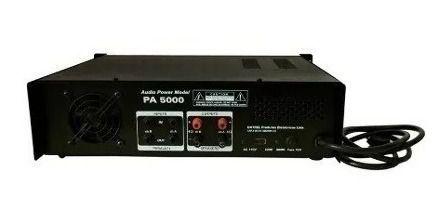 Amplificador De Potencia Datrel 600w Rms Pa5000 Profissional