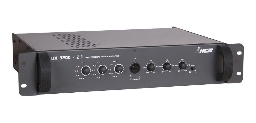 Amplificador De Potencia NCA Dx3200 2.1