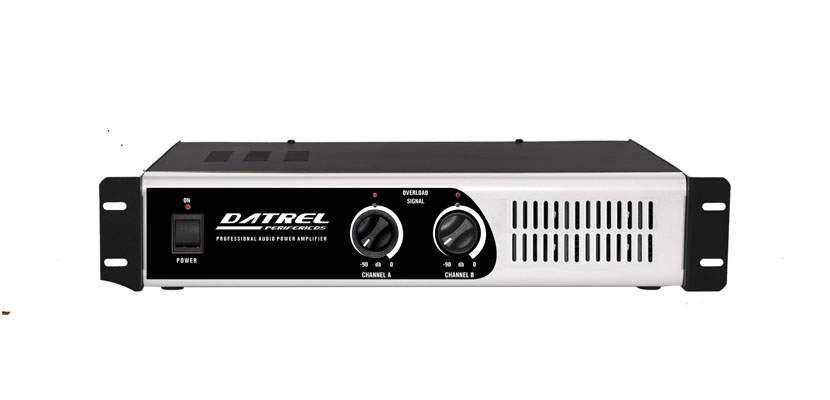 Amplificador de Potencia Profissional 1.000 Watts 4 OMHS PA 10.000 - Datrel