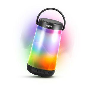 Caixa de Som Novik Neo Bluetooth com Bateria e Iluminação 360 Glow