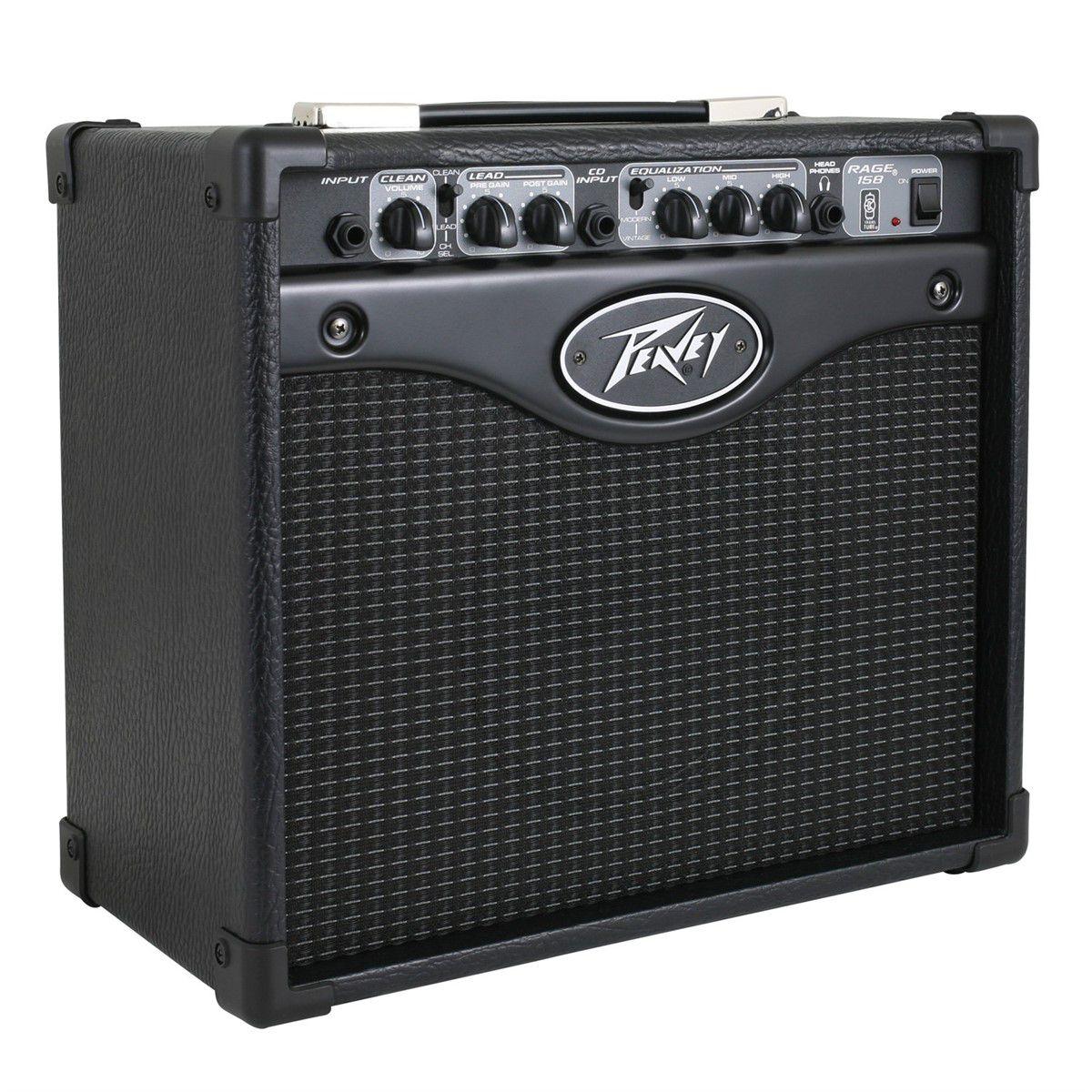 Cubo Amplificador Peavey Rage 158 Guitarra