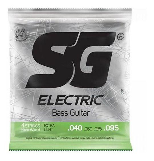 Encordoamento SG Baixo 4 cordas 0.40