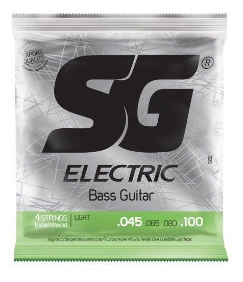 Encordoamento SG Baixo 4 cordas 0.45