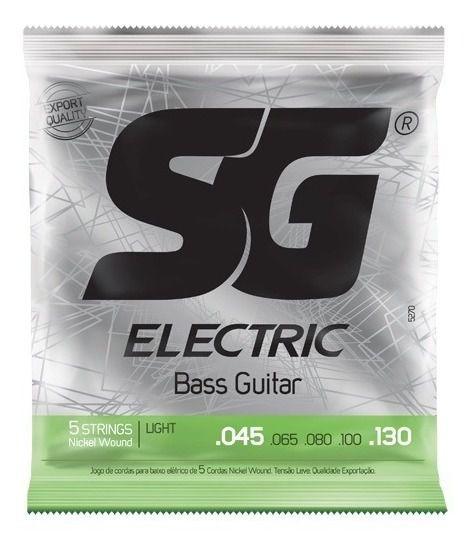 Encordoamento SG Baixo 5 cordas 0.45