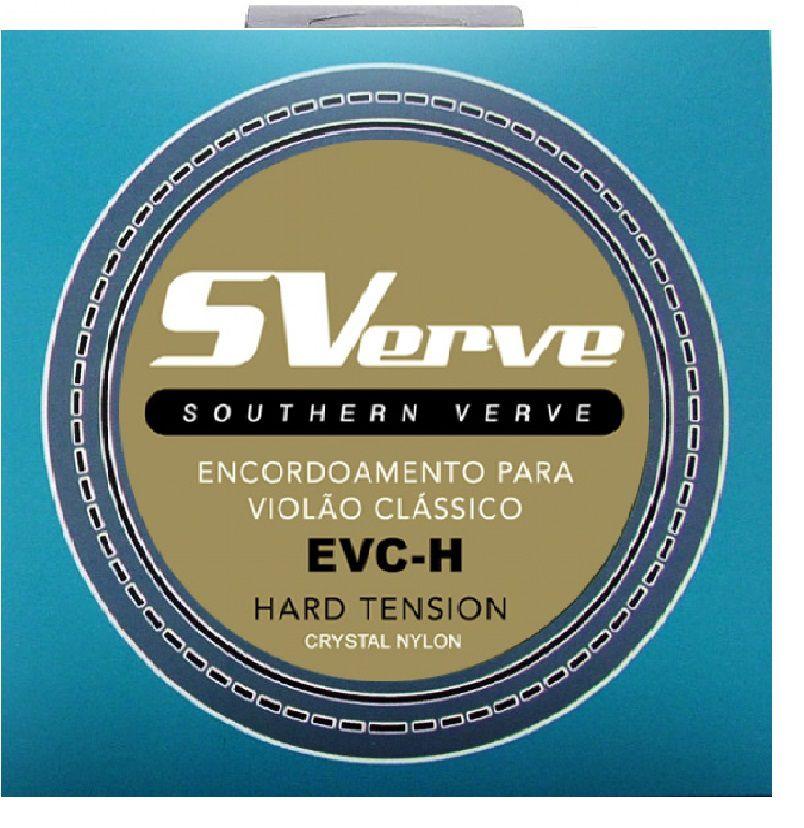 Encordoamento SVerve Violão Nylon Branco Tensão Pesada EVC-H