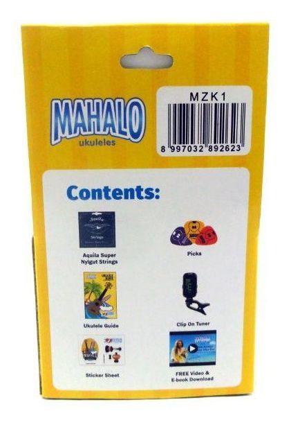 Kit Mahalo P/ Ukulele MZK1