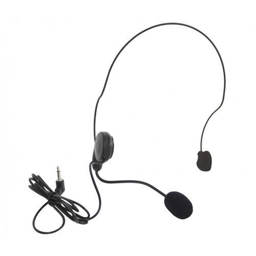 Microfone Sem Fio SKP Headset de Cabeça UHF Mini V