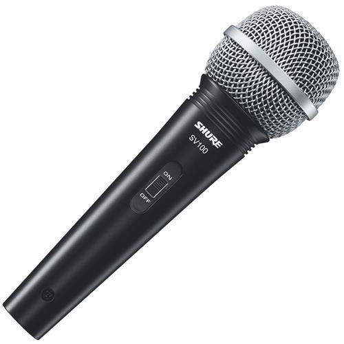 Microfone Shure com Fio Dinâmico SV 100