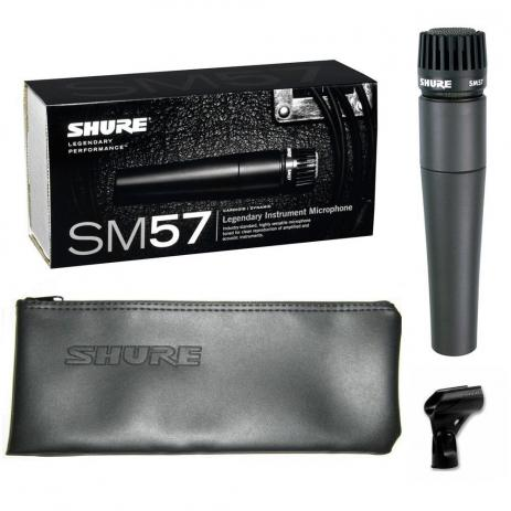 Microfone Shure Direcional SM57 LC