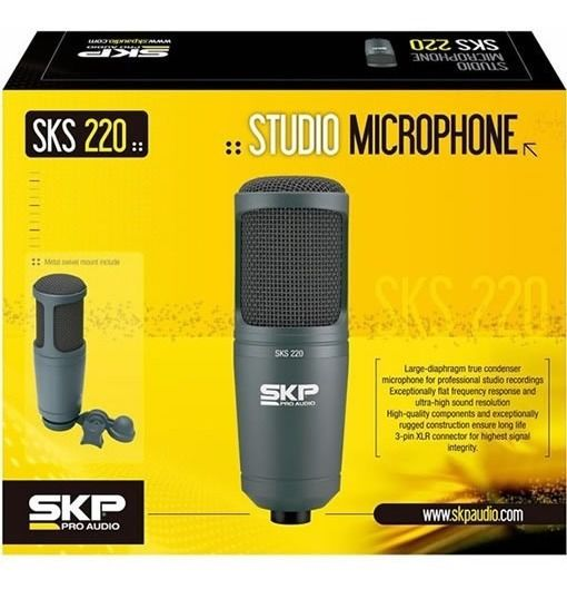 Microfone SKP Condensador  SKS 220 SASKS20