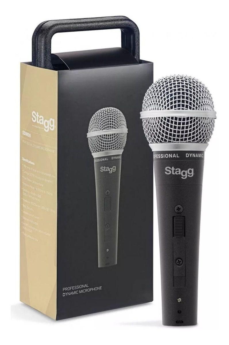 Microfone Stagg SDM50
