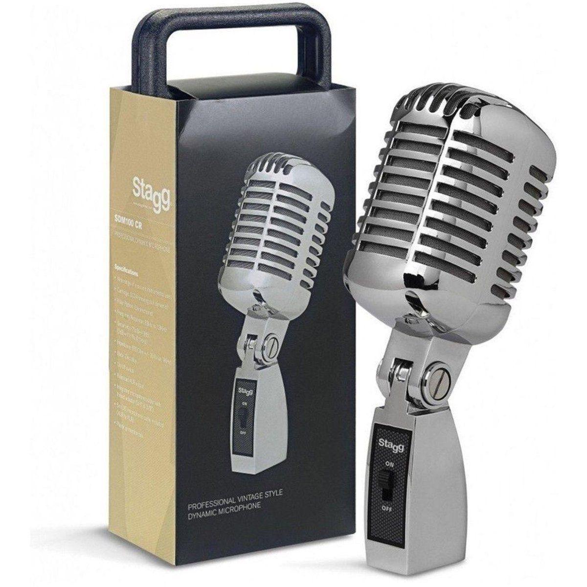 Microfone Vintage Stagg SDM 100 CR