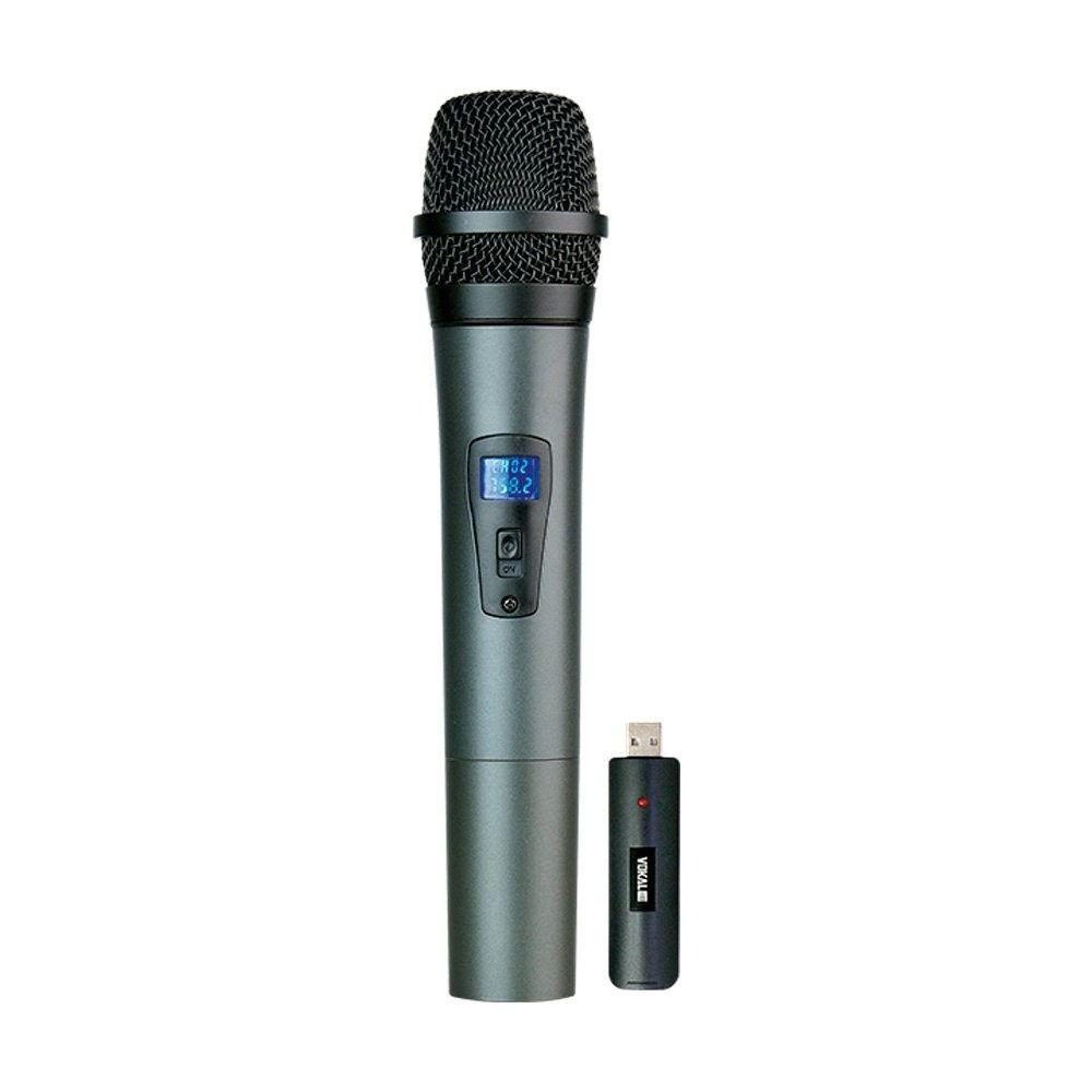 Microfone Vokal Sem Fio Duplo VLR 502
