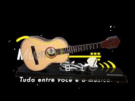 Miniatura Violão 6 cordas