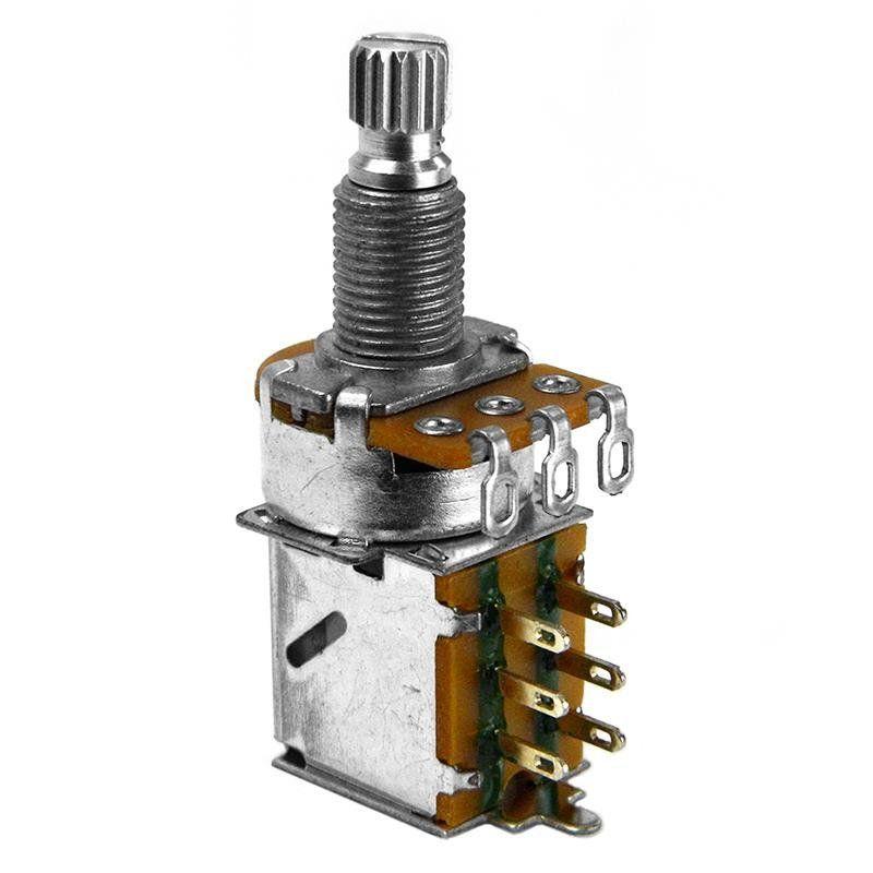 Potenciômetro Santo Angelo Push Pull Eixo Longo Tone B500K