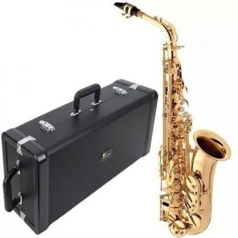 Saxofone Alto Eagle Em MIB SA 501