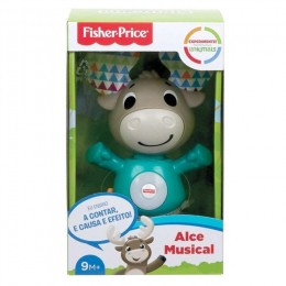 Alce Musical - Linkimals - Com Som e Luz - Fisher Price