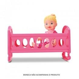 Berço para Boneca - Little Collection - Diver Toys