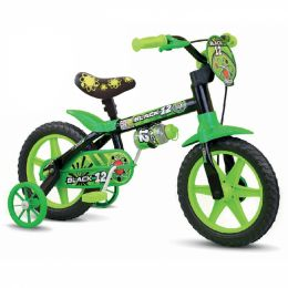 Bicicleta Aro 12 - Black - Nathor