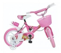 Bicicleta Aro 14 - Bike Da Turma - Rosa - Unitoys