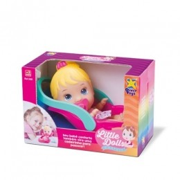 Boneca Little Dolls - Bebê Conforto - Diver Toys
